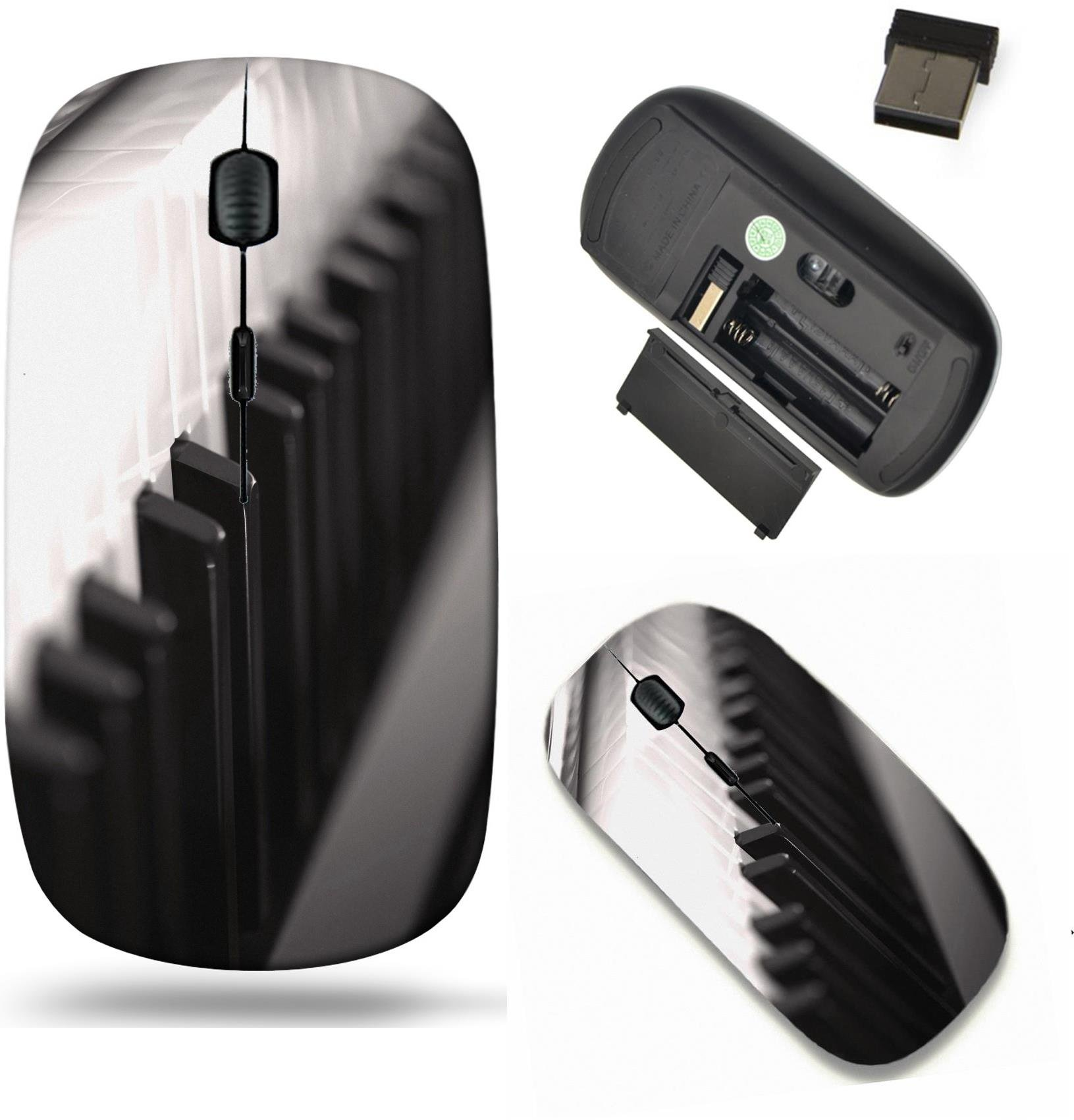 Liili Wireless Mouse Travel 2.4G Wireless Mice with USB Receiver, Click with 1000 DPI for notebook, pc, laptop, computer, mac book Paino keyboard Photo 6213207