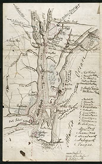 Amazoncom Vintage 1865 Map of attack on Fort Fisher Wilmington