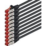 1aTTack 0.25m 2x RJ-45 Cat6 S/FTP (S-STP) M/M 0.25m Cat6 S/FTP (S-STP) Black networking cable - Networking Cables (0.25 m, Cat6, S/FTP (S-STP), RJ-45, RJ-45, Black)