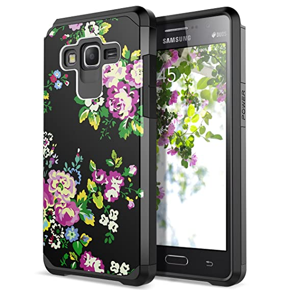premium selection e2efe 5d976 Galaxy Grand Prime Case, Galaxy J2 Prime Case, SmartLegend 2 in 1 Hybrid  Dual Layer Heavy Duty Impact Resist Armor Protective Case with Shockproof  ...