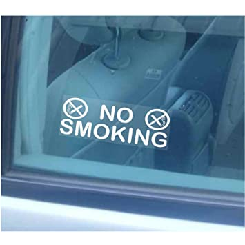 2 x no smoking window stickers small version for businesstaximini