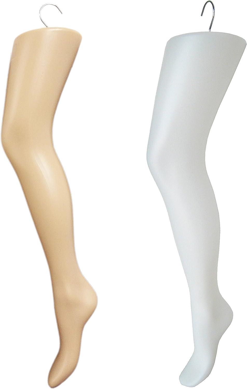 Fleshtone Legging or Hosiery Leg Form Display