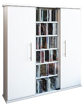 VCM Tabina Mueble Auxiliar, Madera, Blanco, 91,5x86x18 cm: Amazon.es: Hogar