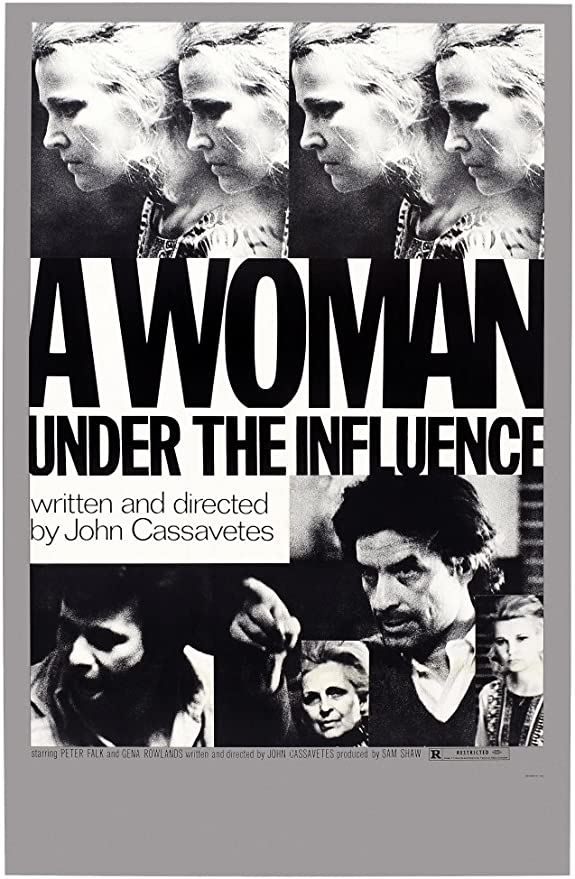 Amazon.com: A Woman Under The Influence Us Poster Art Peter Falk (Left)  Director John Cassavetes (Second Right) Gena Rowlands (Top And Bottom  Right) 1974 Movie Poster Masterprint (11 x 17): Posters & Prints