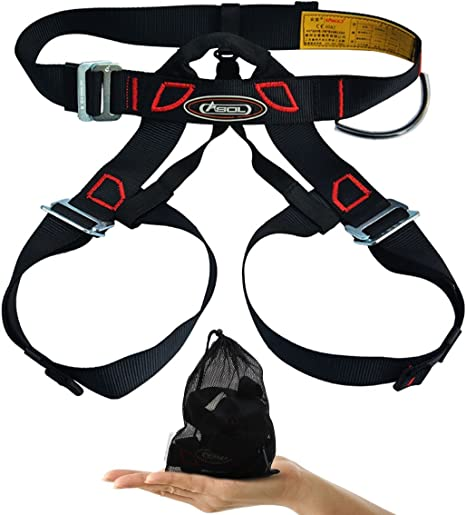 Arnés de escalada, cinturones Alisable seguro para montañismo ...