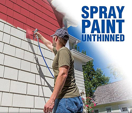 Graco Magnum 262800 X5 is an ideal paint sprayer for painting all interior projects, decks, siding, fences and small houses