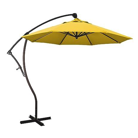 Amazon Com California Umbrella 9 Round Aluminum Cantilever
