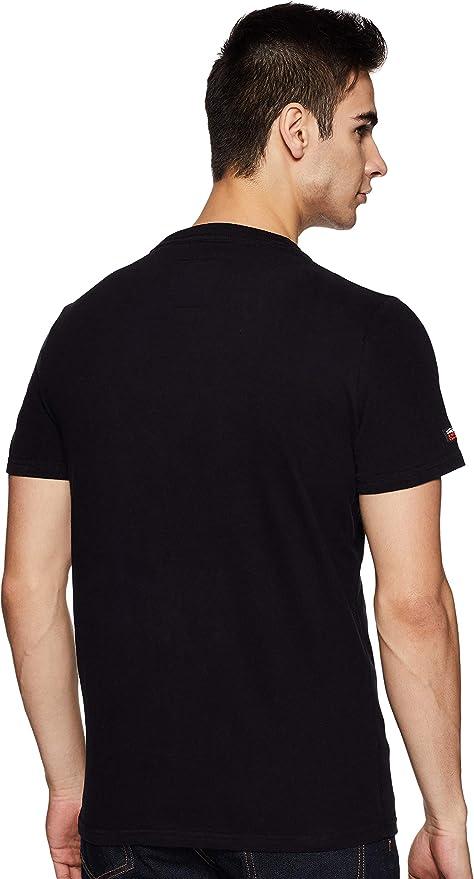 Superdry Vintage Logo Layered Camo tee Camiseta para Hombre ...