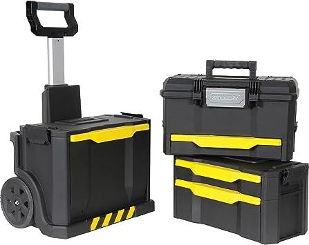 Preciso diseñado con ruedas taller caja de herramientas Stanley ...