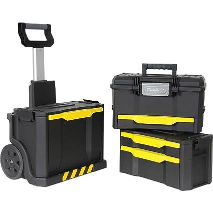 Preciso diseñado con ruedas taller caja de herramientas Stanley Rolling [1 unidad] - con