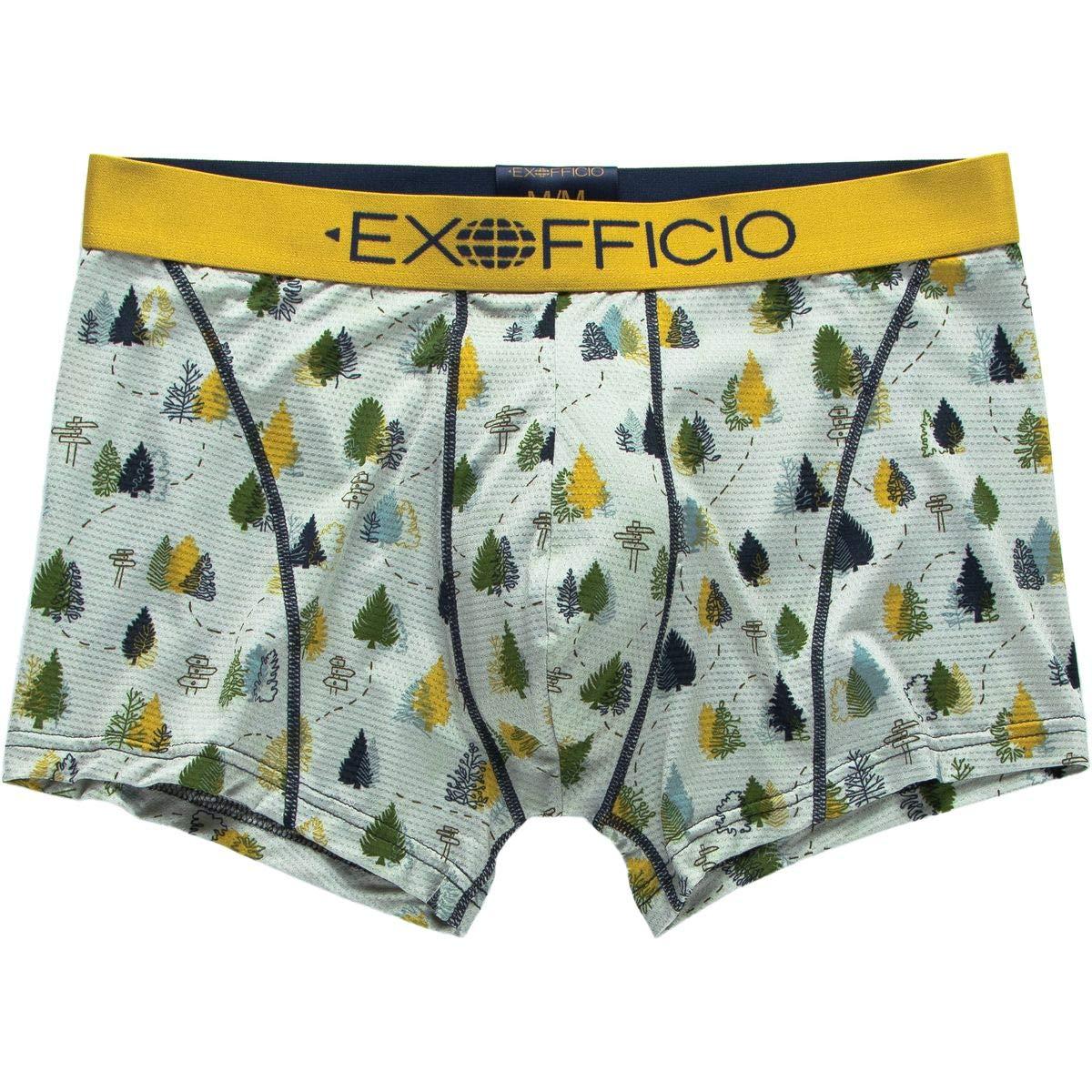 ExOfficio Give-N-Go Sport Mesh Print 3in Boxer Brief Mens