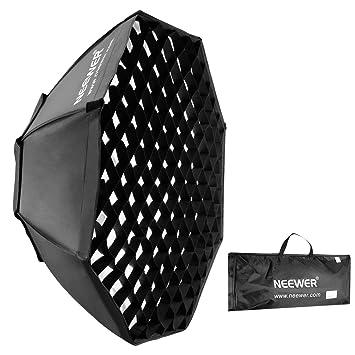 Neewer 10069695 - Paraguas Softbox Octagonal Colmena con Enganche Bowens para Flash Speedlite,Fotografía y