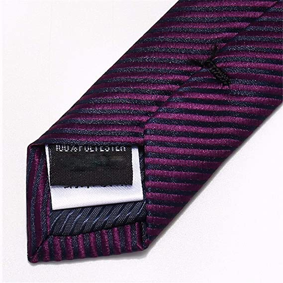 XXSZKAA-tie Corbata Hombre/Traje Camisa Púrpura Franjas Corbata/8 ...