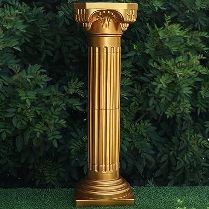 Amazon BalsaCircle 4 Pcs 36 Tall Gold Roman Empire Columns For