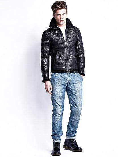 Hermes Homme Veste Vêtements Et M Segura En Black Cuir ztxBYq