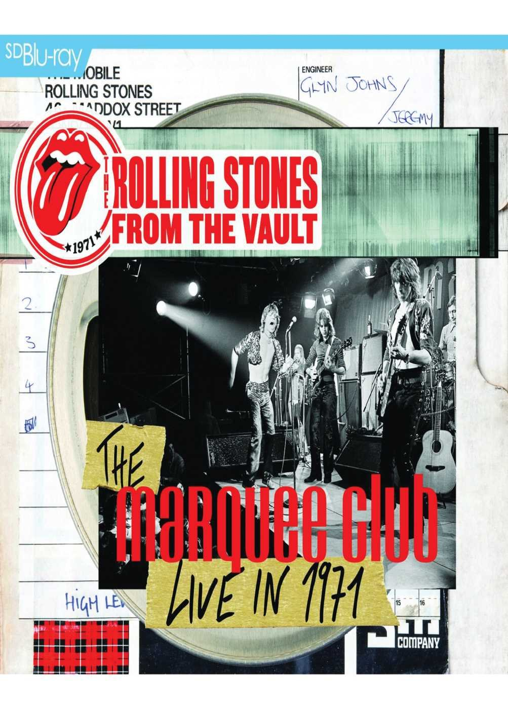 From the Vault-the Marquee-Live in 1971 [LP + DVD]: Amazon.de ...
