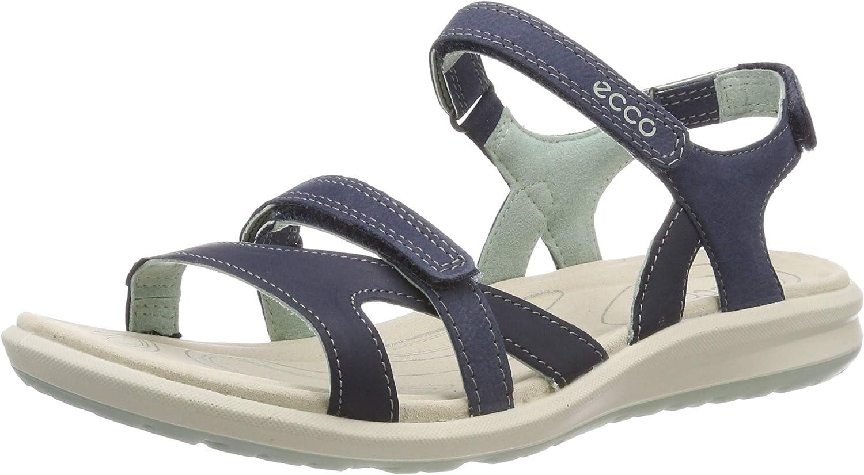 ECCO Women's Wedge Heels Sandals Open Toe, 5/9 UK