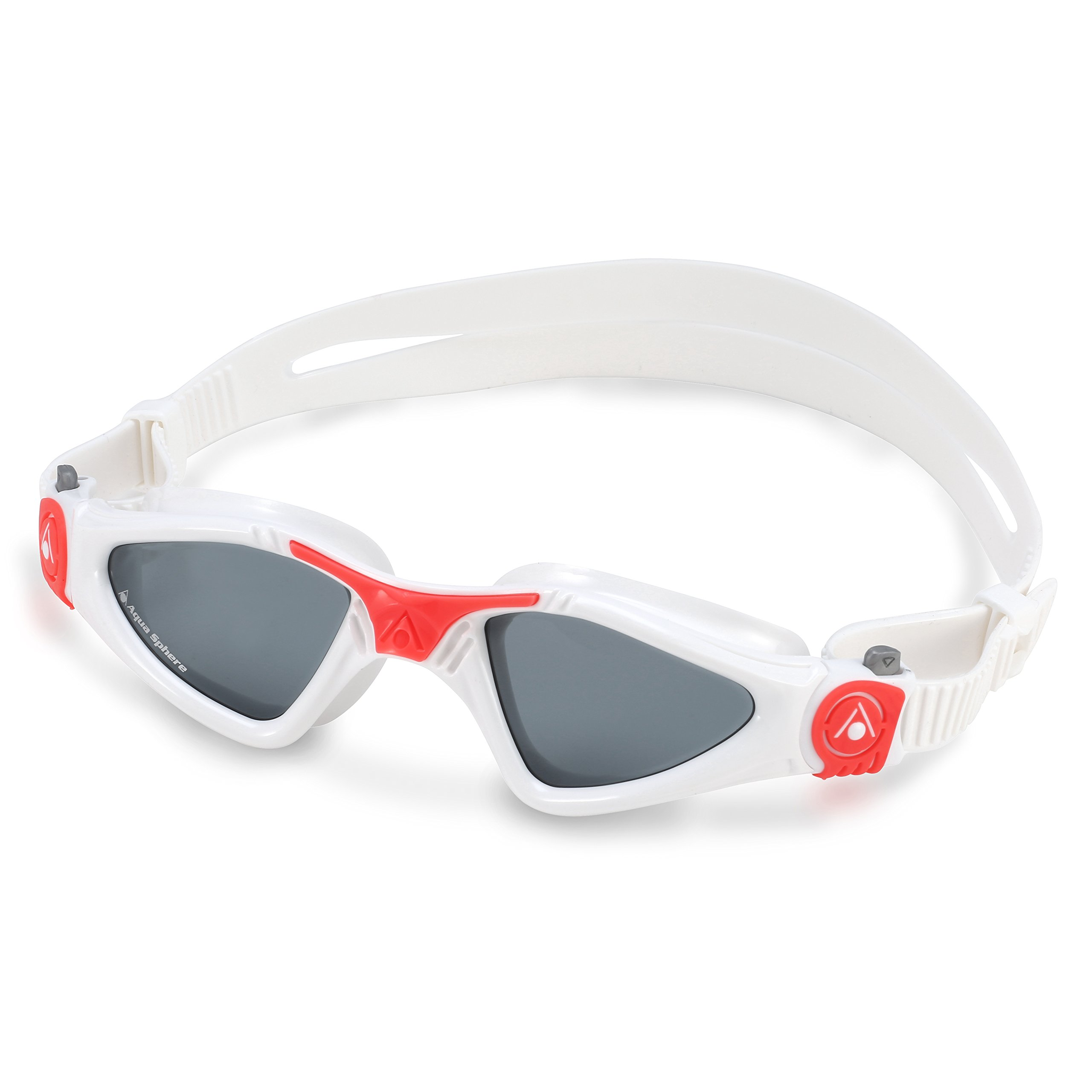 Aqua Sphere Kayenne Ladies Swimming Goggles Smoke Lens, White & Coral UV Protection Anti Fog Swim Goggles for Women by Aqua Sphere (Image #6)