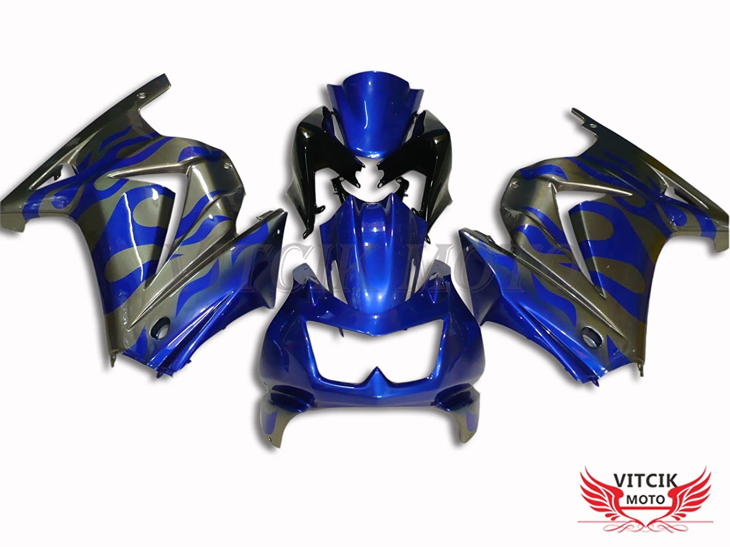 Amazon.com: VITCIK (Fairing Kits Fit for Kawasaki EX250R ...