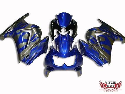 Amazon.com: VITCIK (Fairing Kits Fit for Kawasaki EX250R ...
