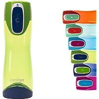 Contigo Swish Autoseal butelka na wodę, duża, wolna od BPA, szczelna butelka na siłownię, idealna do uprawiania sportu…