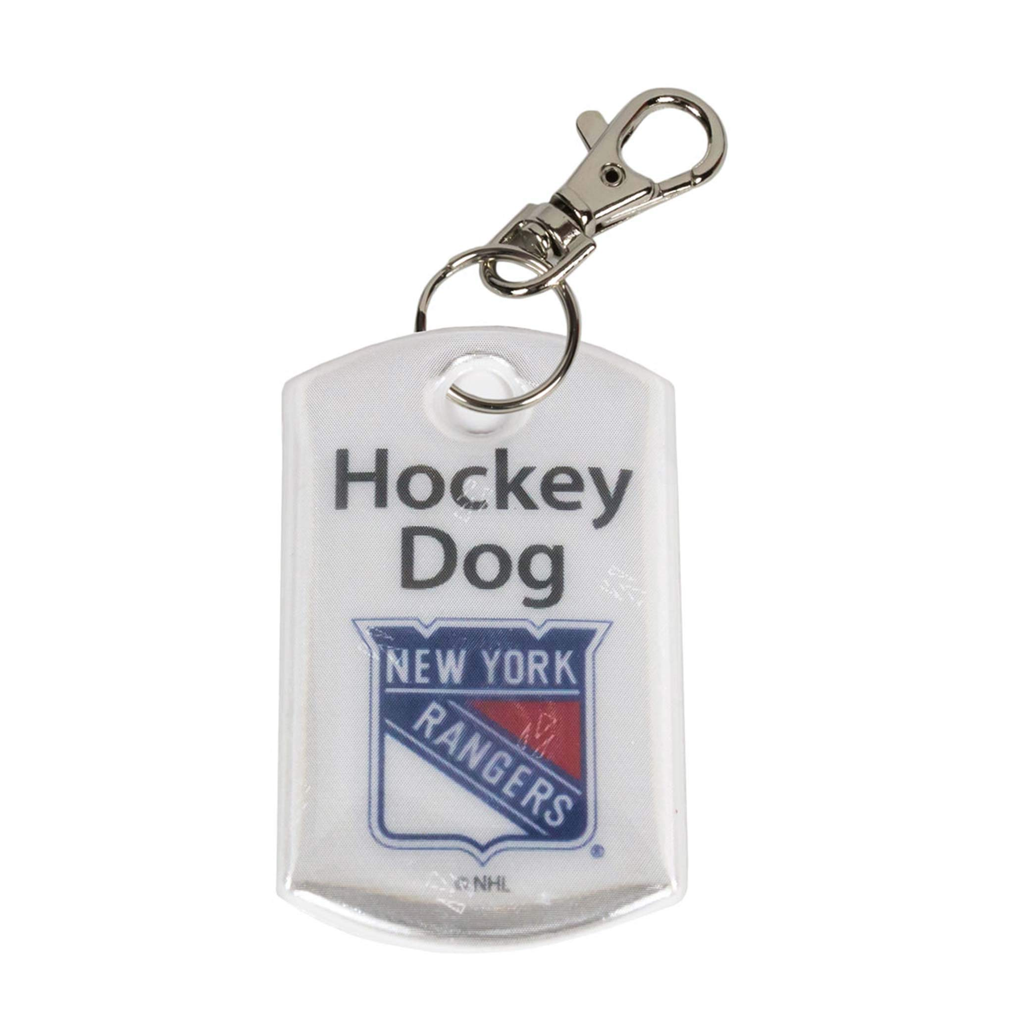 Finnex Reflectors Official NHL New York Rangers Hockey Dog Reflector   High Visibility Safety Reflector Provides Night…