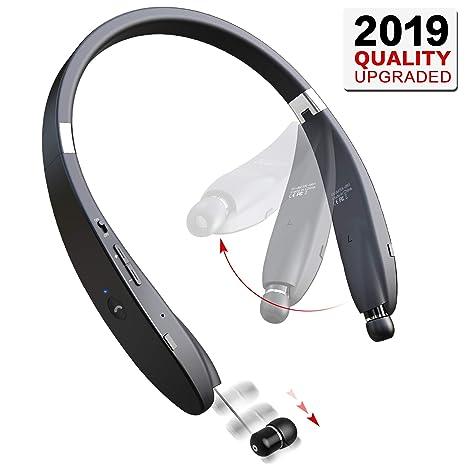 Auriculares inalámbricos Bluetooth para el cuello: Amazon.es: Electrónica