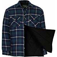 Champion Men's Totnes Padded Quilted Lining Winter Shirt