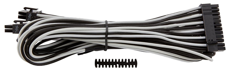 Corsair CP-8920160 24pin ATX - Cable (macho/macho, RMi series, RMx series, SF series, 0.61 m), Blanco (White)