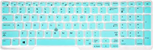 KeyCover - Keyboard Cover Compatible with Dell Latitude E5550 E5570 5580 5590 5591,Precision M7510 M3520 M5520 M7710 M7720 M7520 Laptop - Mint