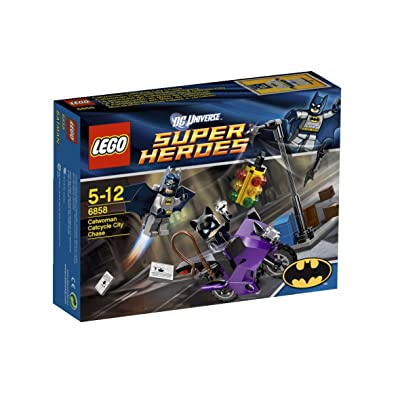 Lego Super Heroes 6858: Catwoman Catcycle City Chase: Toys & Games