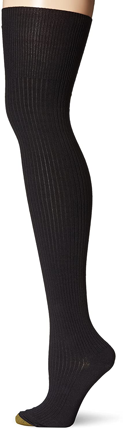 Gold Toe Women's Heather Rib Over The Knee Sock