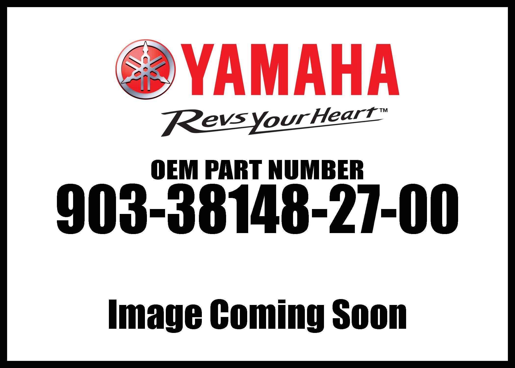 Yamaha 90338-14827-00 PLUG,SPEC'L SHAPE; 903381482700
