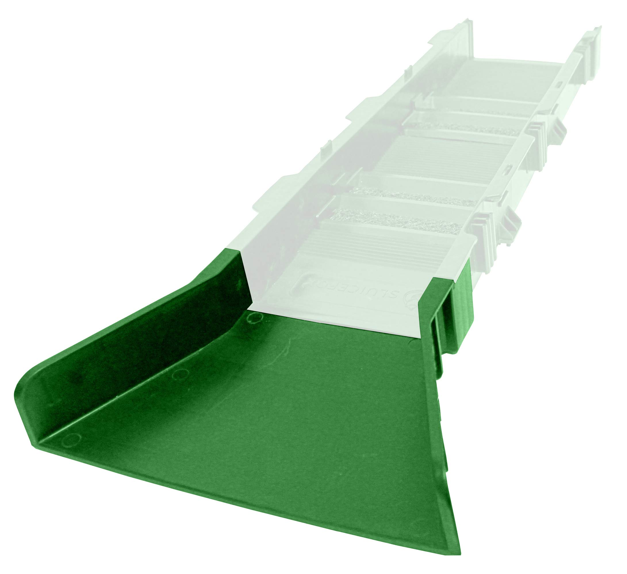 Sluice Fox Flare Only-Green for Portable Modular Sluice Box Gold Panning Dredge by Sluice Fox (Image #2)