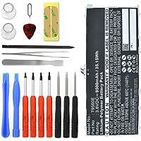 subtel® Premium Akku für Samsung Galaxy Tab Pro 12.2 inkl. Werkzeug-Set (9500mAh) T9500E Ersatzakku Batterie Tabletakku