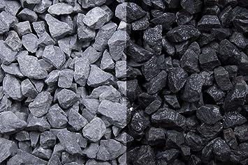 Favorit Kies Splitt Zierkies Edelsplitt Basalt 8-16mm Big Bag 1000 kg HL25