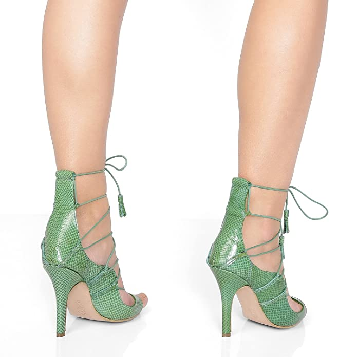 Christian Milano Women's Sandals, Handmade, Custom, Designer Heels, High  Heels, Wedding Heels, Bridal Heels 21, Green: Amazon.ca: Shoes & Handbags