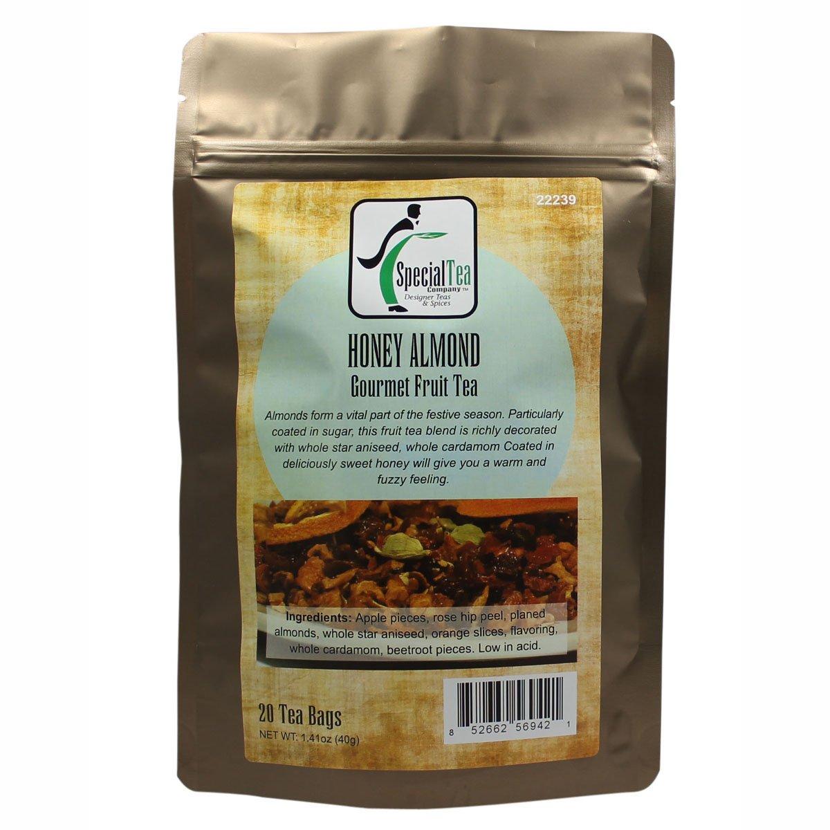 Special Tea Honey Almond Fruit Tea, 20 Count