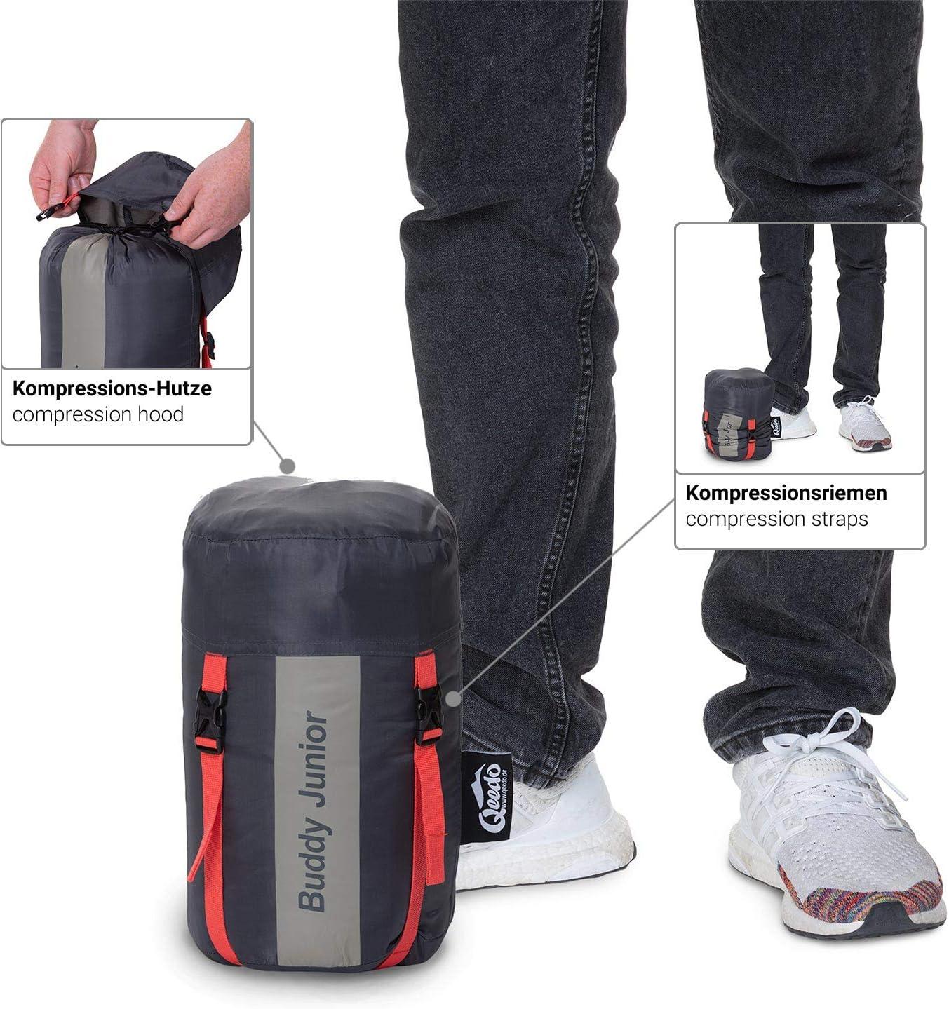 Best Shape /& Soft Touch Comfort Control Qeedo Buddy Junior Saco de Dormir ni/ños