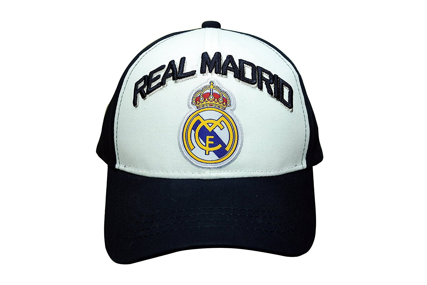 Real Madrid Authentic Official Licensedサッカーキャップ1つサイズ-001   B00VJ4MQYO