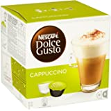 Nescafe Dolce Gusto Cappuccino 16 Capsules - Pack of 3 (Total 48 Capsules, 24 Servings)