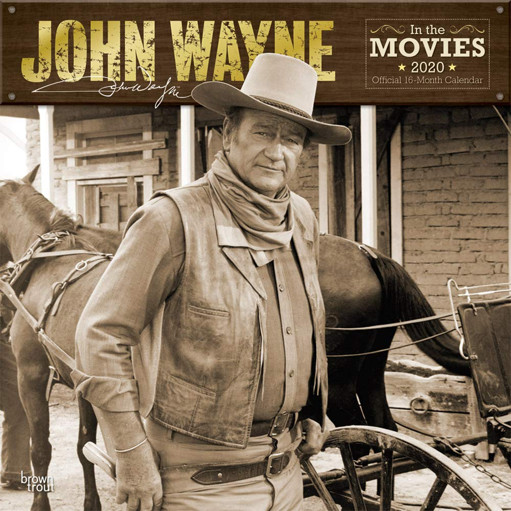 John Wayne 2020 Square Wall Calendar
