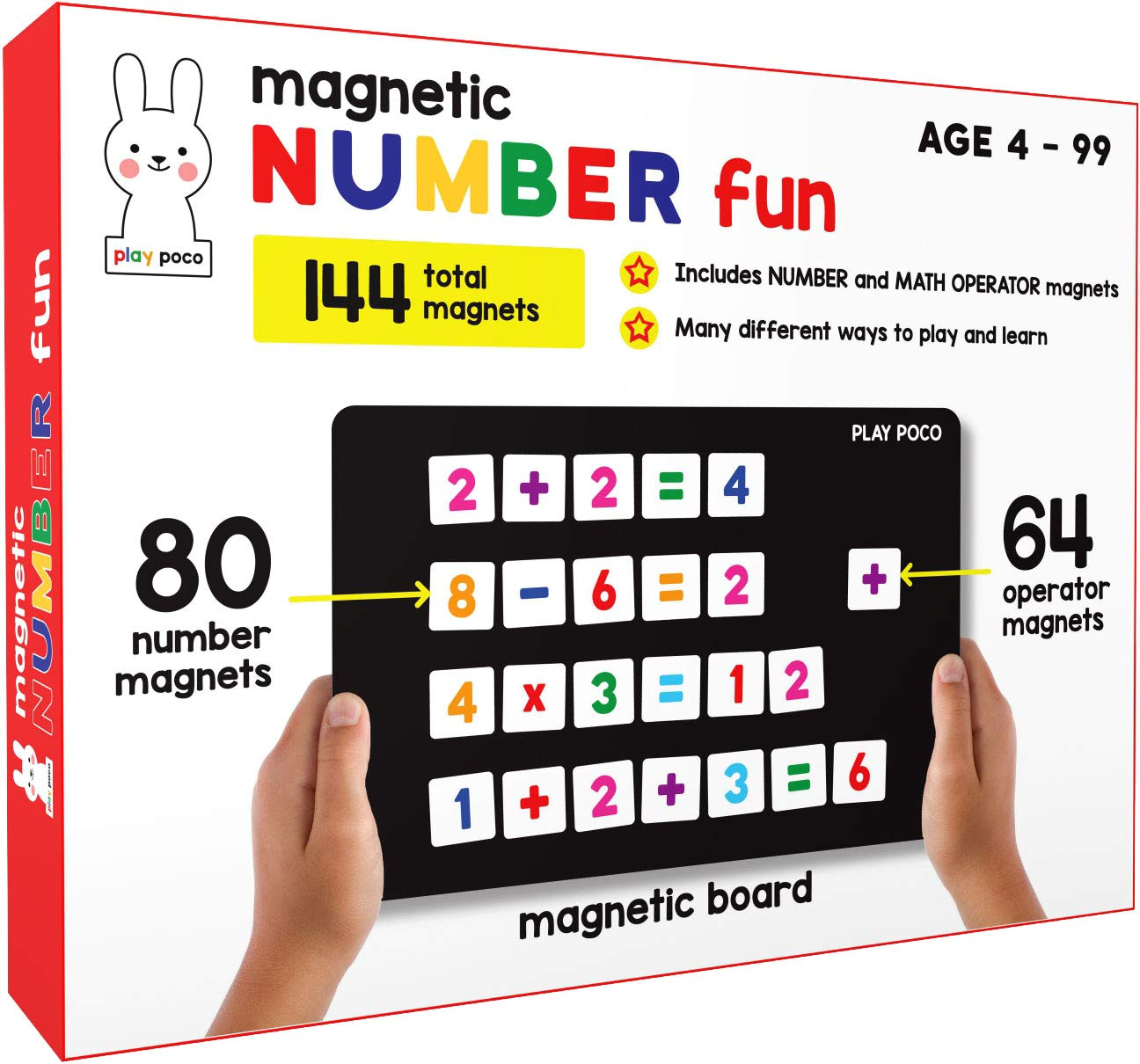 PLAY POCO Magnetic Number Fun for Kids for ₹611
