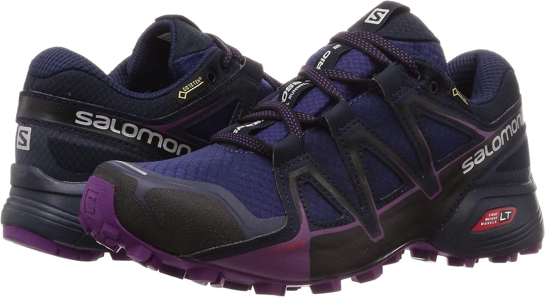 Salomon Speedcross Vario 2 GTX, Calzado de Trail Running, Impermeable para Mujer: Amazon.es: Zapatos y complementos