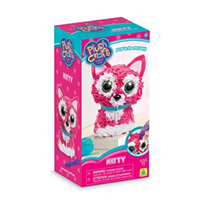 The Orb Factory PlushCraft Kitty 3D Kit: Toys & Games
