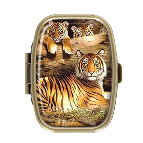 Qcc Fire Tiger Pastillero Cajas Decorativas Bronce ...