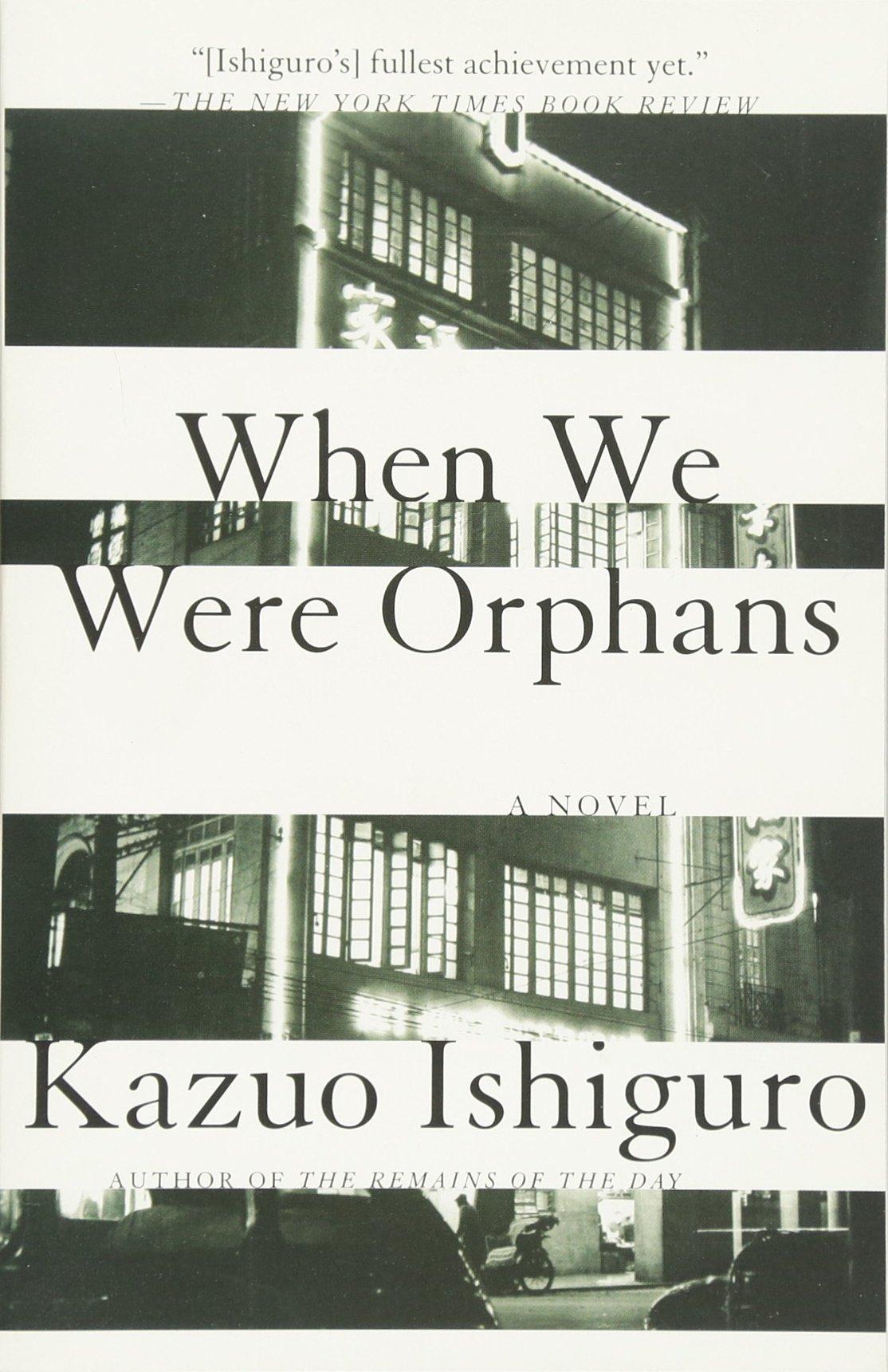 When We Were Orphans: A Novel: Kazuo Ishiguro: 9780375724404: Amazon:  Books