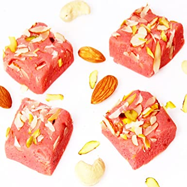 Ghasitaram gifts sugar free rose barfi 400 gms amazon grocery ghasitaram gifts sugar free rose barfi 400 gms negle Images