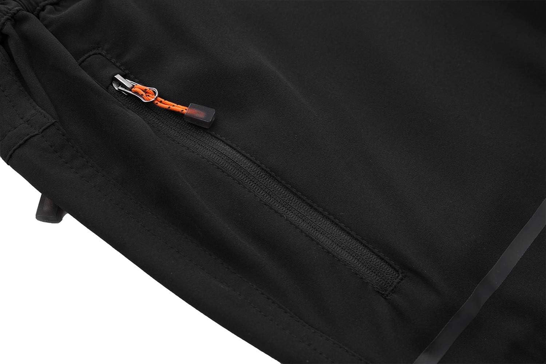 DENGBOSN Pantalon Monta/ña Hombre Secado R/ápido Impermeable Pantalones Trekking Escalada Senderismo Acampada Transpirables y Ligeros
