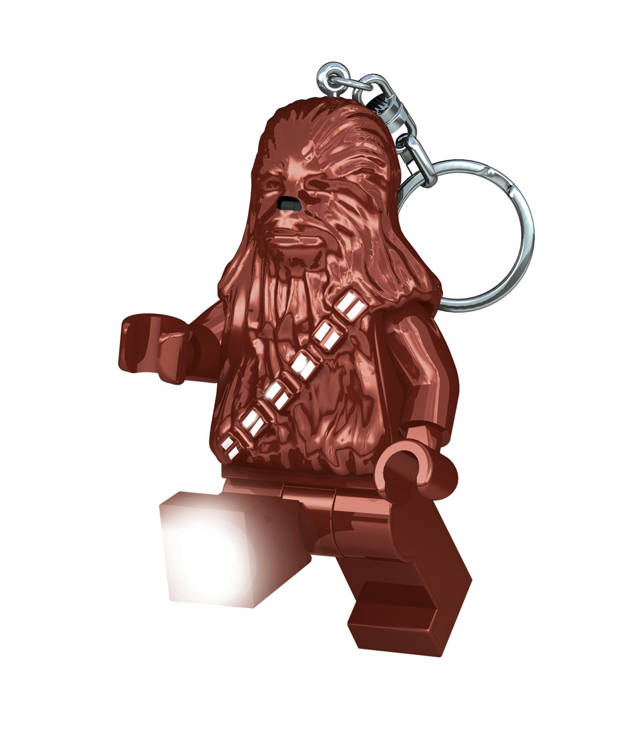 LEGO - Star Wars Chewbacca, mini linterna, 7,6 cm (29003-15)